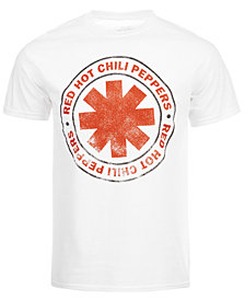 Red Hot Chili Peppers Men's T-Shirt by Merch Traffic