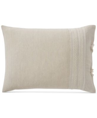 Madison Hemstitch King Pillowcase Pair, Created for Macy's