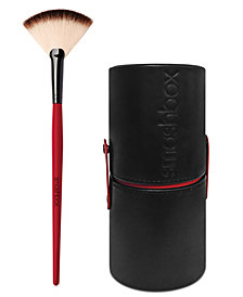 Smashbox Fan  Brush + Deluxe Brush Canister, Only $26 with any Smashbox purchase
