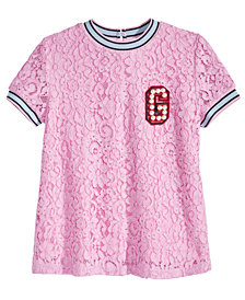 GUESS Big Girls Lace T-Shirt