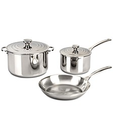 5-Pc. Stainless Steel Cookware Set
