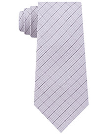 DKNY Men's Grid Slim Tie