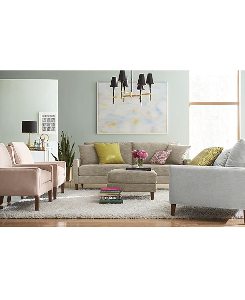 Furniture Emberli Fabric Sofa Collection Created For Macy S