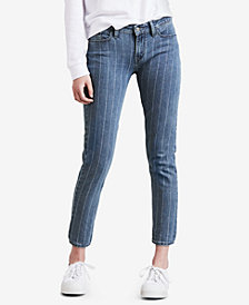 Levi's® 535™ Striped Super Skinny Jeans