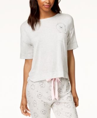 by Jennifer Moore Graphic-Pocket Pajama Top, Created for Macy's