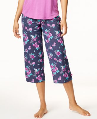 by Jennifer Moore Printed Cropped Pajama Pants, Created for Macy's