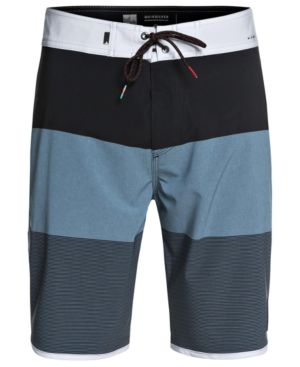 """QUIKSILVER Men'S Highline Tijuana Scallop 20"""" Board Shorts in Real Teal"""