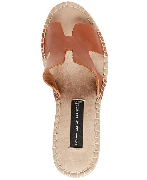 86fe28cbbe2 STEVEN by Steve Madden Eryk Espadrille Wedge Sandals   Reviews ...