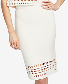 RACHEL Rachel Roy Cutout Sweater Pencil Skirt, Created for Macy's