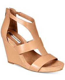 I.N.C. Women's Lilbeth Wedge Sandals, Created for Macy's