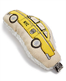 Harry Barker Small Taxi Cab Canvas Toy