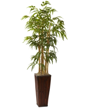 Nearly Natural 4 Artificial Plant in Decorative Planter