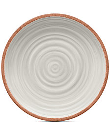 TarHong 4-Pc. Rustic Swirl Dinner Plates Set