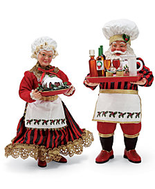 Department 56 Possible Dreams Santa & Mrs. Claus Figurines