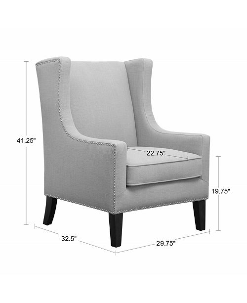 Enjoyable Sloane Fabric Accent Chair Quick Ship Ibusinesslaw Wood Chair Design Ideas Ibusinesslaworg