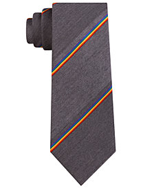 Kenneth Cole Reaction Men's Pride Stripe Slim Tie
