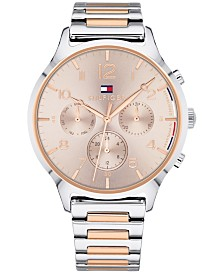 Tommy Hilfiger Women's Two-Tone Stainless Steel Bracelet Watch 38mm