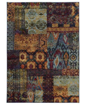 "Journey Patchwork Multi 2' 6"" x 12' Runner"