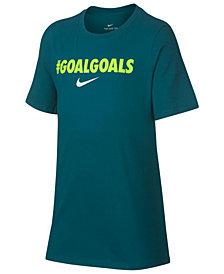 Nike Big Boys Goals-Print T-Shirt