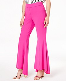 INC Petite Tulip-Hem Flare Pants, Created for Macy's