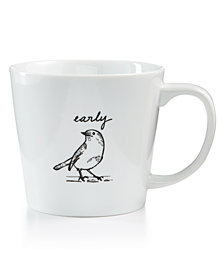 CLOSEOUT! The Cellar Early Bird Large Mug, Created for Macy's