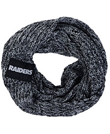 Forever Collectibles Oakland Raiders Peak Infinity Scarf