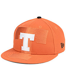 New Era Boys' Texas Longhorns Logo Spill 9FIFTY Snapback Cap