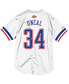 Mitchell & Ness Men's Shaquille O'Neal NBA All Star 1996 Mesh Crew Neck Jersey
