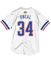 Mitchell   Ness Men s Shaquille O Neal NBA All Star 1996 Mesh Crew Neck  Jersey 0768c6f87