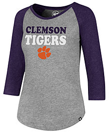 '47 Brand Women's Clemson Tigers Club Raglan T-Shirt