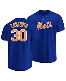 Majestic Michael Conforto New York Mets Official Player T-Shirt, Little Boys (4-7)