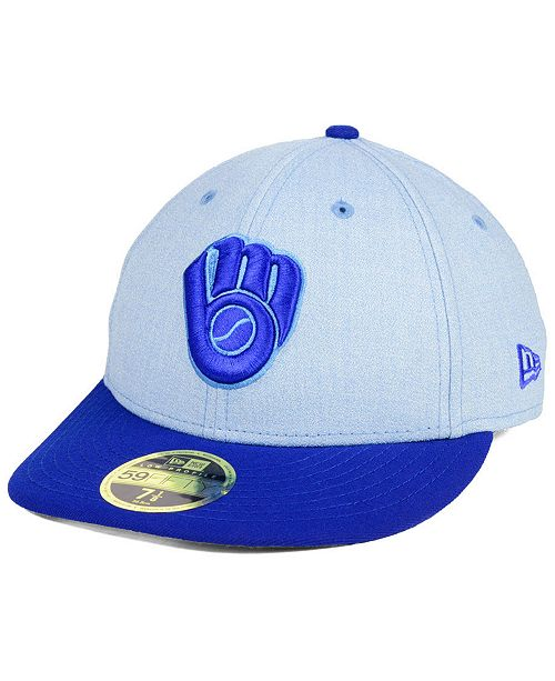 sale retailer 14f89 872b2 ... New Era Milwaukee Brewers Father s Day Low Profile 59FIFTY ...