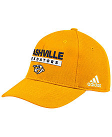 adidas Nashville Predators Stanley Cup Playoff Patch Cap