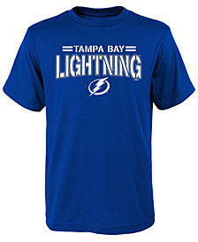 Outerstuff Tampa Bay Lightning Standard Issue T-Shirt, Big Boys (8-20)