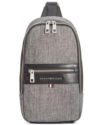 Tommy Hilfiger Men S Leo Sling Backpack All Accessories Men Macy S