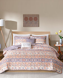 Intelligent Design Mirabelle Reversible 4-Pc. Quilted Twin/Twin XL Coverlet Set