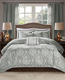 Madison Park Dora 6-Pc. Full/Queen Duvet Cover Set