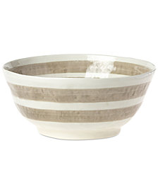 VIETRI Naturale Deep Serving Bowl