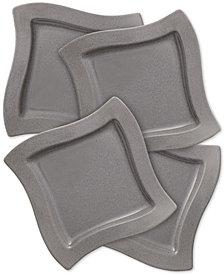 Villeroy & Boch New Wave Stone Set of 4 Salad Plates