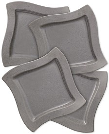 Villeroy & Boch New Wave Stone Set of 4 Salad Plates
