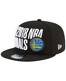 New Era Golden State Warriors Locker Room Conference Champ 9FIFTY Cap