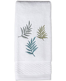 Saturday Knight Maui Cotton Embroidered Hand Towel