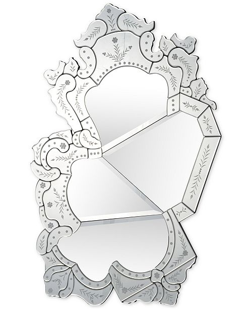 Furniture Sommers Wall Mirror, Quick Ship