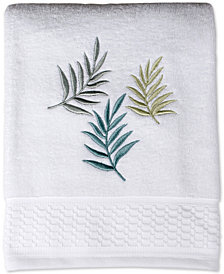 Saturday Knight Maui Cotton Embroidered Bath Towel
