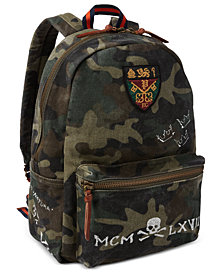Polo Ralph Lauren Men's Camo Canvas Backpack