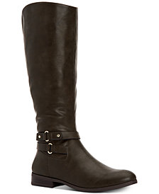 Style & Co Kindell Riding Boots, Created For Macy's