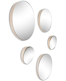 Trotter Wall Mirror (Set Of 5), Quick Ship