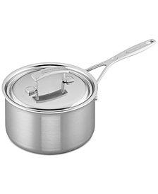 Demeyere Industry 3-Qt. Stainless Steel Saucepan & Lid