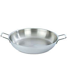 14.8-Qt. Stainless Steel Paella Pan