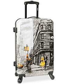 "Wembley Live It Up NYC 24"" Hardside Spinner Suitcase"